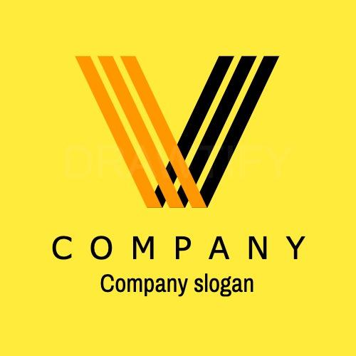 Drawtify's editable logo template