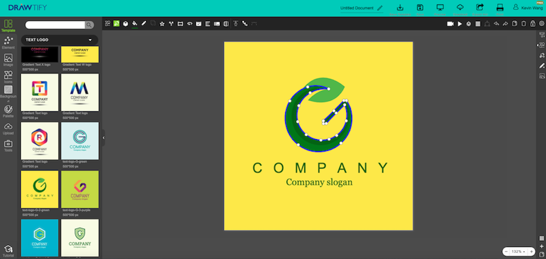 How to make logos with Drawtify to best powerful brand image