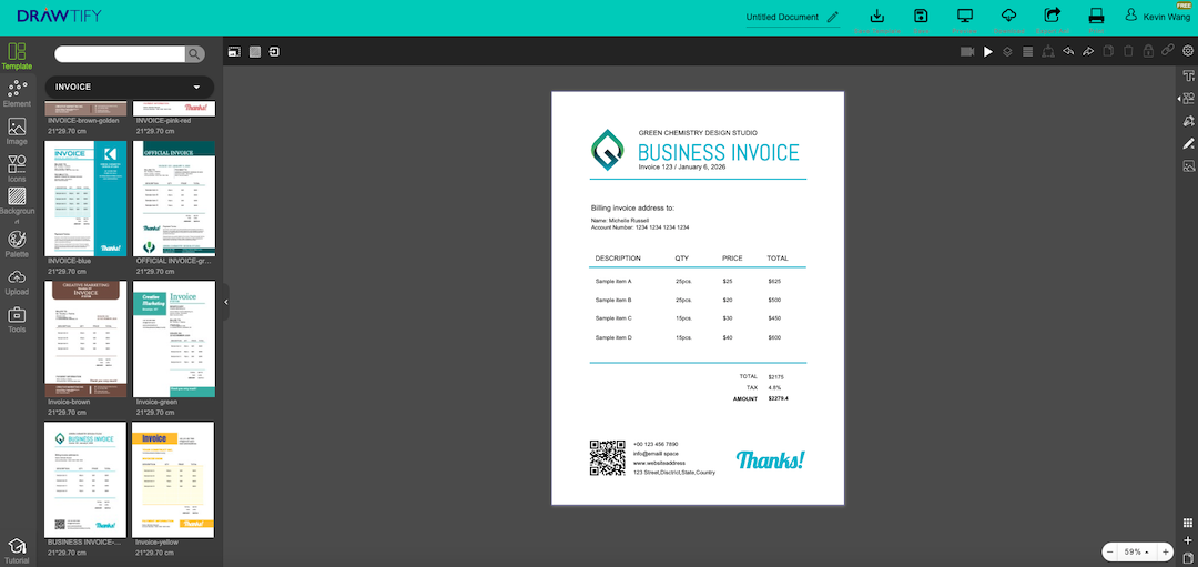 make invoices