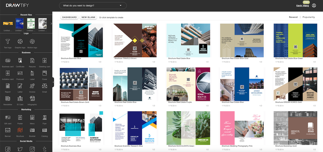 How to create a brochure with Drawtify to powerful marketing?