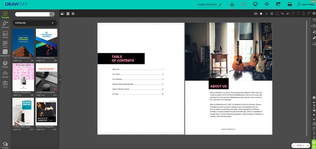 make a catalog