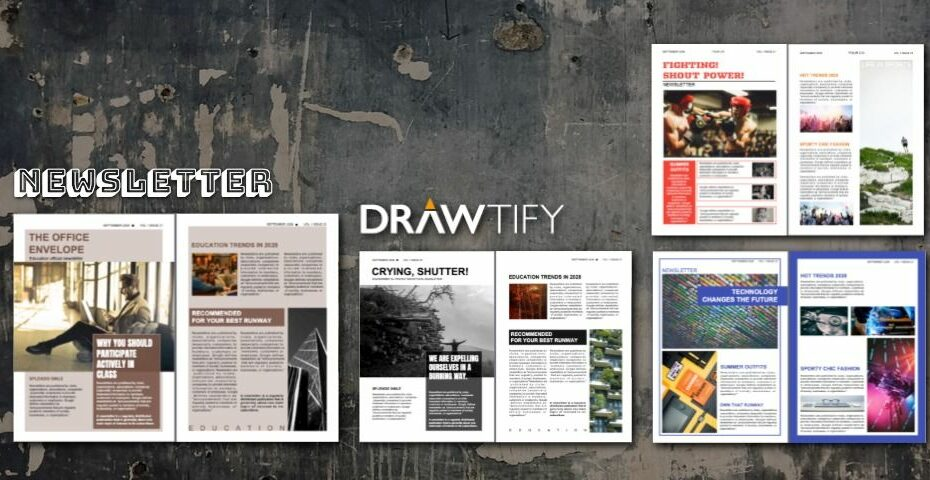 How to make a newsletter with Drawtify to powerful marketing? - DRAWTIFY