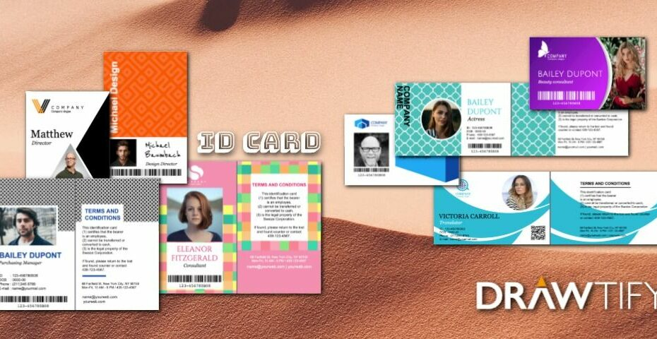 How to make ID cards with Drawtify strong brand image? - DRAWTIFY