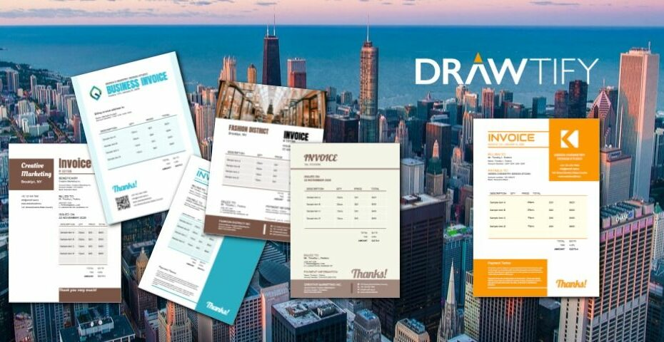How to make invoices with Drawtify to best business image? - DRAWTIFY