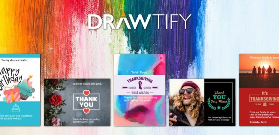 How to make greeting cards with Drawtify to best friendly - DRAWTIFY