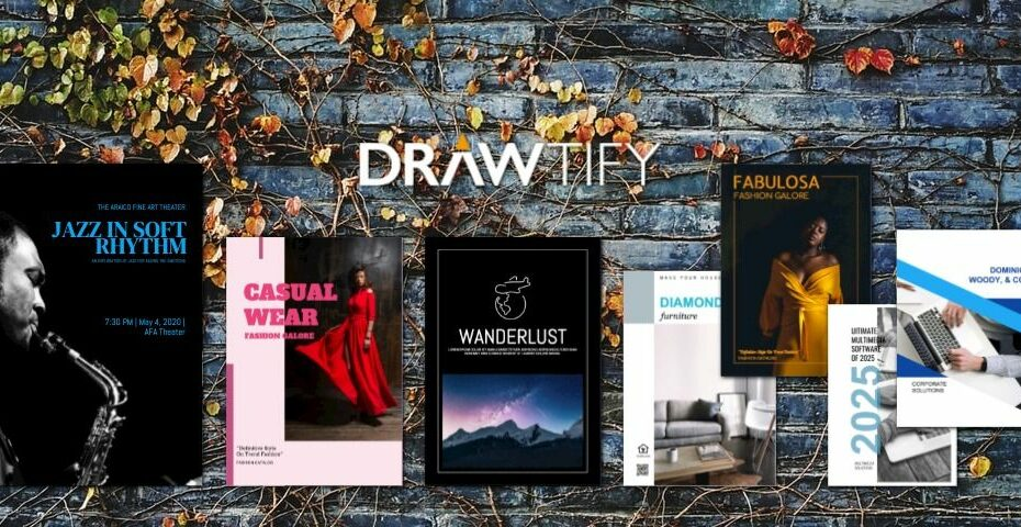How to make covers with Drawtify to the best business image? - DRAWTIFY