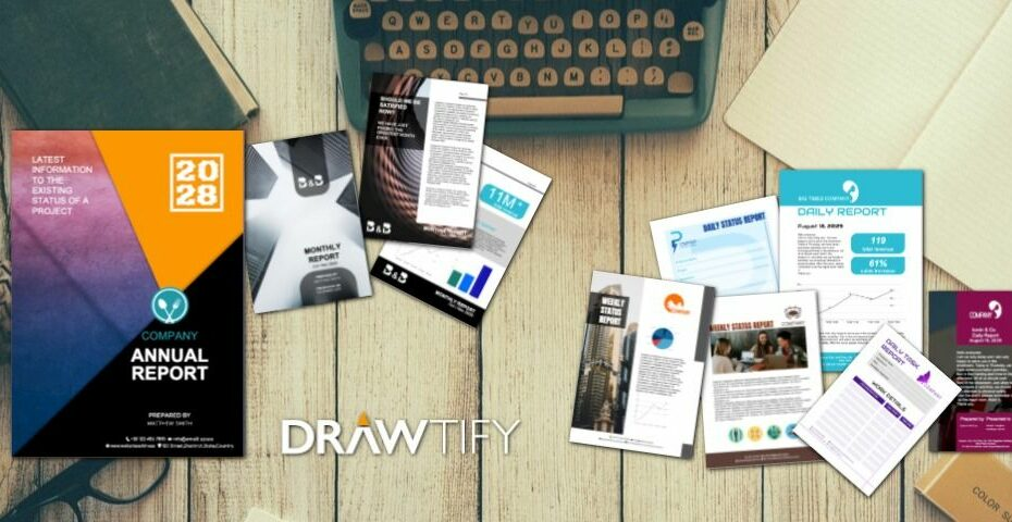 How to make a report with Drawtify to the best business image? - DRAWTIFY