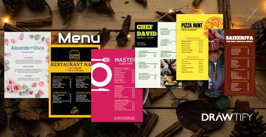 How to create a menu with Drawtify to powerful marketing? - DRAWTIFY
