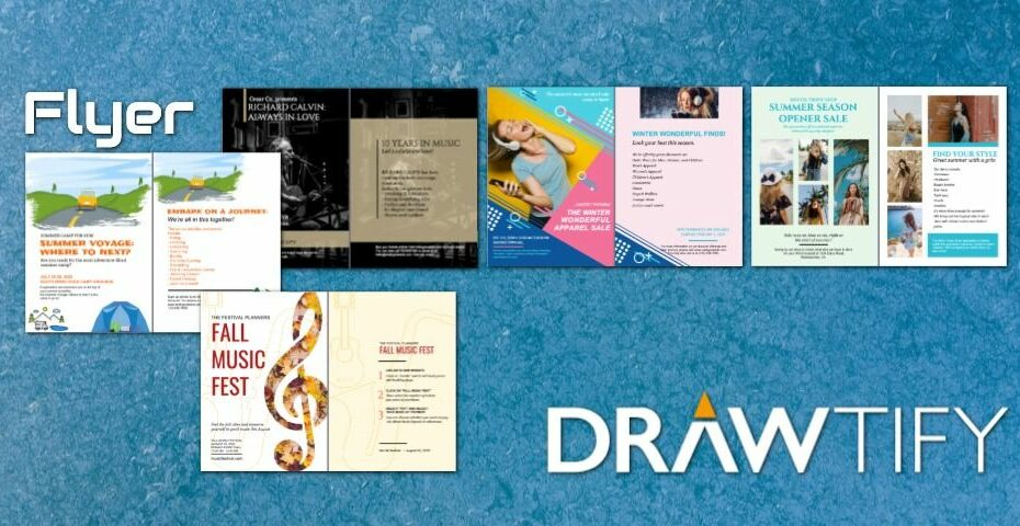 How to create a flyer with Drawtify to powerful marketing? - DRAWTIFY