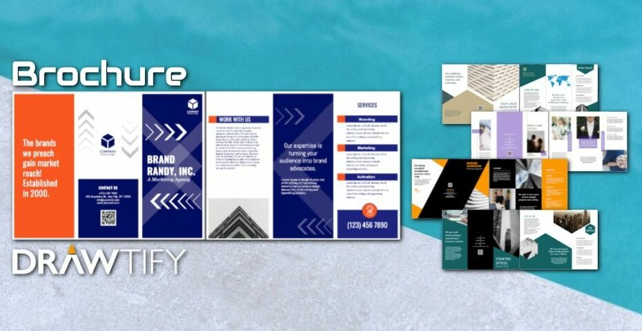 How to create a brochure with Drawtify to powerful marketing? - DRAWTIFY