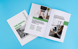 brochure maker display pictures