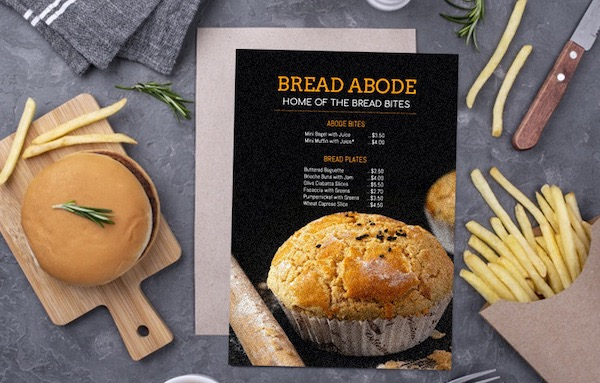 Excellent menu design will immediately attract your customers. We provide many exquisite menu templates for you to choose. Of course, our powerful design function can also help you make more exquisite menus.​