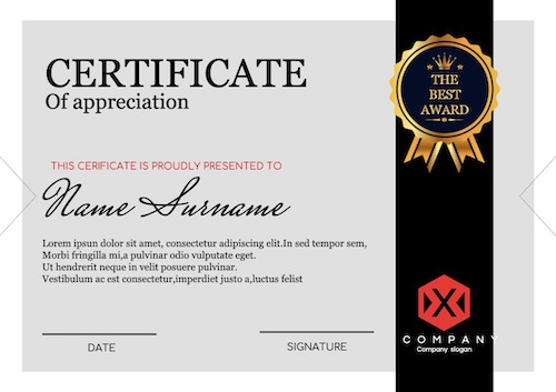 online certificate maker - sample 7