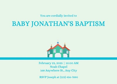 This is a sample of Drawtify's free online invitation card maker.