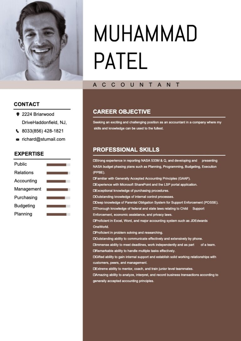 online resume maker -sample 6
