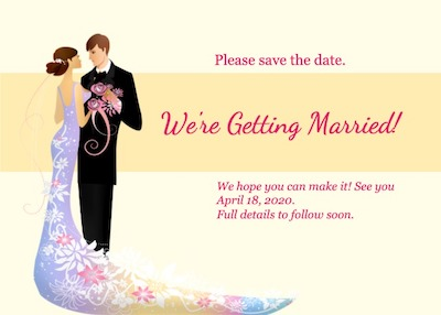This is a sample of Drawtify's online free invitation card maker.