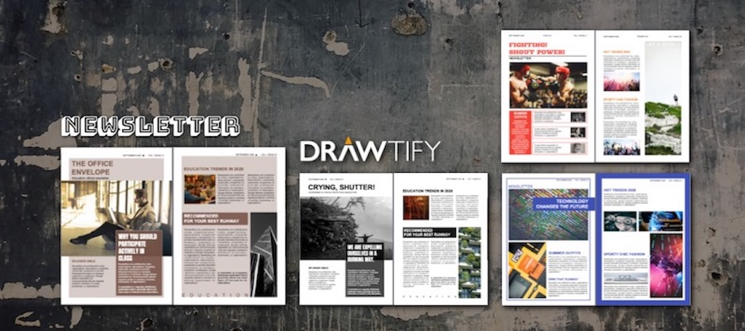 How to make a newsletter with Drawtify?