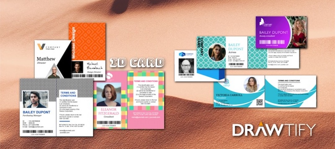 How to make ID cards with Drawtify?