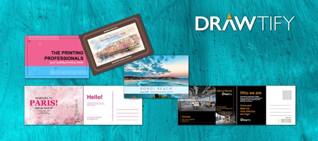 How to make a postcard with Drawtify?