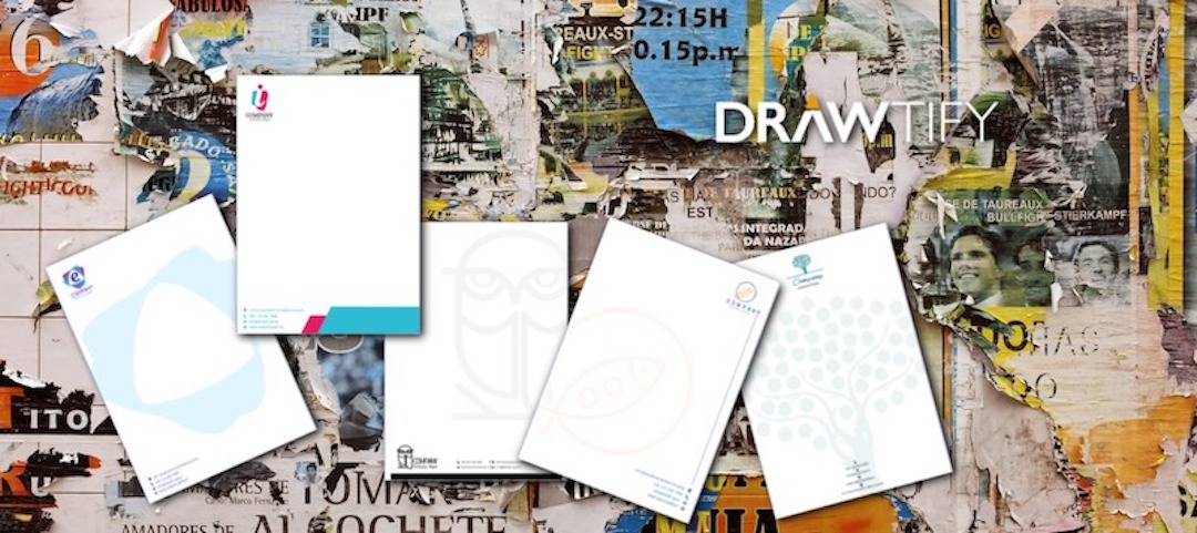 How to make letter papers with Drawtify to best business image?