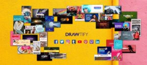 How to make social media images with Drawtify?