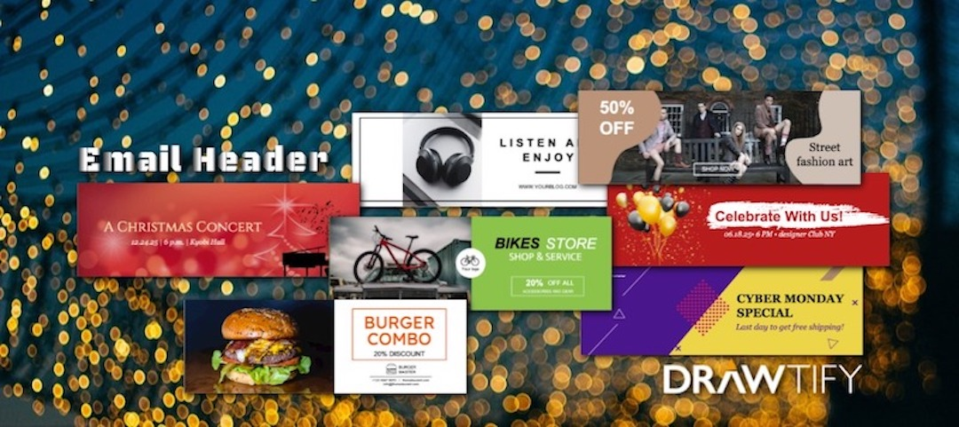 How to make an email header with Drawtify to powerful marketing?