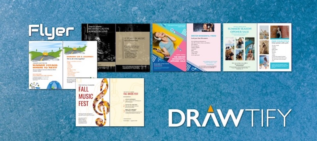How to create a flyer with Drawtify to powerful marketing?