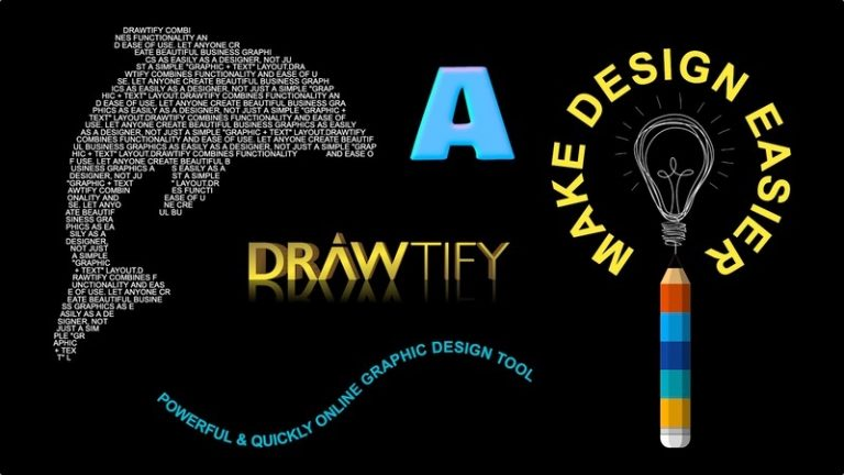 online vector editor, online CorelDraw - ADVANCED TYPOGRAPHY EXQUISITE DISPLAY