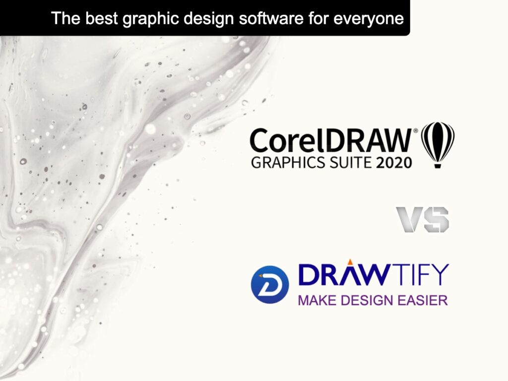 Drawtify VS CorelDraw