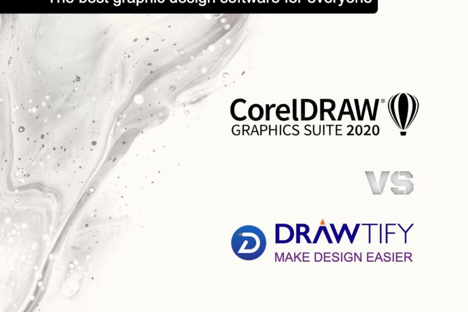Drawtify VS CorelDraw