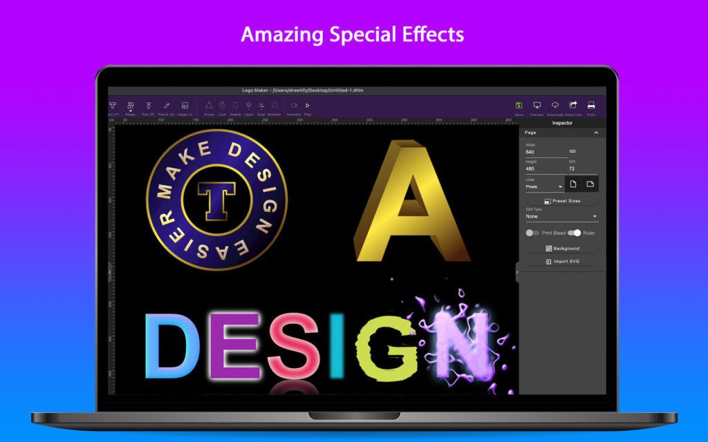 The best choice for logo design in 2021 - Drawtify Logo Maker & Animator 2